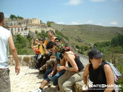 Visita guiada Sepúlveda -Hoces del Río Duratón; gr 10 madrid; senderismo navacerrada